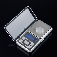 500g/0.1g Mini Digital LCD Electronic Jewelry Pocket Portable Weight Scale LN