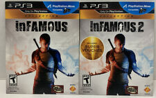 Sony PlayStation 3 inFAMOUS Collection (PS3, 2012) 1 and 2