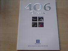 51836) Peugeot 406 Break Prospekt 10/1997