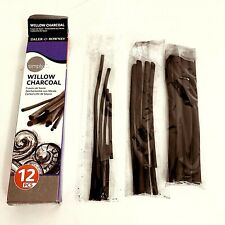 Daler-Rowney 157700012 Simply Willow Charcoal 12pc