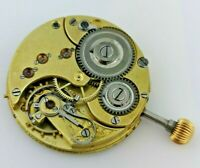 High Grade Early Omega Pocket Watch Movement - Working - Good Project (BP2)