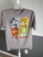 DISNEY PARKS Authentic WALT DISNEY WORLD LOGO MICKEY MOUSE T SHIRT SZ MEDIUM