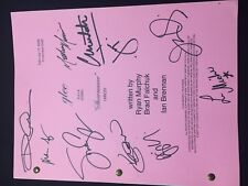 Glee Authentic Entire Signed Script- Showmance- Cory Monteith Lea Michele - 10!