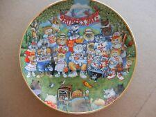Vintage Franklin Mint Bill Purrfect Pops Fine Porcelain Collectors Plate