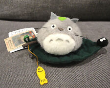 My Neighbor Totoro Plush Scene Fishing on Leaf OOP Sunarrow New Japan CUTE!