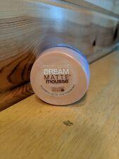Maybelline Dream Matte Mouse Foundation Medium 1 Sandy Beige  .64 oz