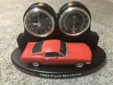New Listing1965 Ford Mustang The Bradford Exchange Desk Clock From 2018