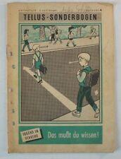 Unterstufe 2 & 3 Schuljahr Tellus Sonderbogen Ausgabe A Jugend im Verkehr B7283