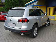 VW Touareg DUPLEX Sportauspuff Endrohr 55mm Anschluss EDELSTAHL