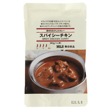Japanese Spicy Chicken Curry Sauce Packet 180g by Muji