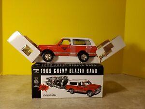 ERTL WIX 1969 Chevy Blazer Bank Die-Cast Metal ** BLAZER ONLY ** - New Open Box