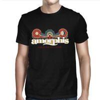 AMORPHIS - Sun Moon Logo - T SHIRT M-L-XL-2XL Brand New Official T Shirt