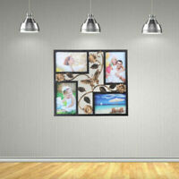 Family Photo Frame Picture Home Hanging Wall Vintage Collage Picture Frame Decor