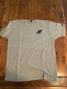 NWOT Umpqua Feather Merchants Tribal Steelhead Fishing T-Shirt Size L Grey Color