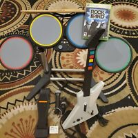 Rock Band Special Edition Bundle Complete Set - Xbox 360
