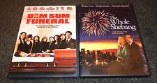 DIM SUM FUNERAL & THE WHOLE SHEBANG-2 movies-TALIA SHIRE, STANLEY TUCCI,KELLY HU