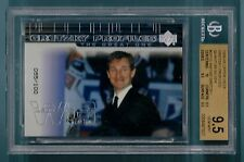 WAYNE GRETZKY 1999/00 UD GRETZKY PROFILES QUANTUM SILVER /100 BGS 9.5 GEM MINT