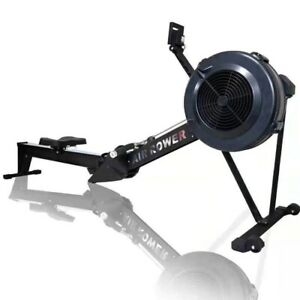 Air Resistance Rowing Machine Wind Rowing Indoor Gym Rowing Equipment Free Ship