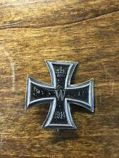 WW1 Original German Iron Cross, First Class EKI w/ Functioning Pin MARKED KO