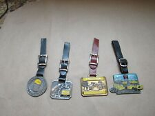 lot of 4 fobs Ron item Vintage Heavy Construction Equipment watch fob