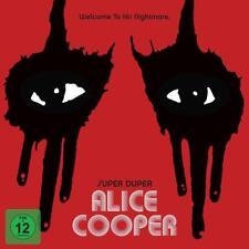 Alice Cooper Super Duper DELUXE EDITION CD Blu ray 2 dvd 30x30 Mediabook