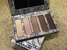 NIB Lorac Love, Lust, & Lace Shimmer Eye Shadow Palette Shades Ltd Ed Romantic!
