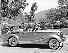 1936 Jensen automobile with a Ford V8 engine promotional 8 x 10 Photograph