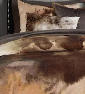 Michael Aram Metamorphosis Cotton Sateen KING Duvet Cover - NEW