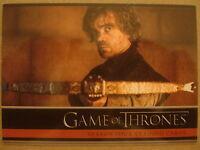 GAME OF THRONES - SEASON FOUR (4): PROMO CARD: P1 - GENERAL DISTRIBUTION