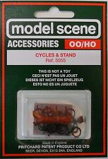 Modelscene Accessories 5055 - Cycles & Stand (00) Railway Models