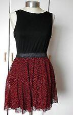 TFNC London leopard short dress Black - Ladies UK Size 10 (S) - Box214 C SSS