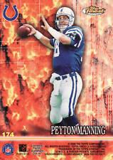 PEYTON MANNING - 2000 Topps Finest # 174