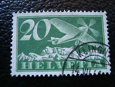 SUISSE - timbre yvert et tellier aerien n° 4 obl (A5) stamp switzerland (A)