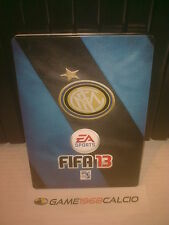 FIFA 13 STEEL BOX INTER PS3 XBOX 360 PC NUOVA SCATOLA METALLICA RARA
