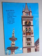 Cartolina Messina Il Campanile con l'orologio meccanico 1981 ( ps486) ^
