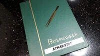 """BRIEFMARKENSAMMLUNG """"AYMAN STATE"""",  gestempelte Sammlung im Steckalbum"""