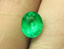 3.46 ct Natural Colombian Emerald Certified