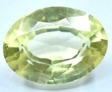 7.30 Ct Natural Ceylon Yellow Sapphire AGSL Oval Cut Sparkling AAA+ Gemstone