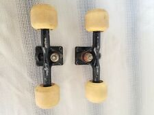 vintage skateboard trucks, all Original Gullwing H.P.G. IV Pro 9 inch, black,