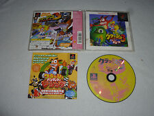 Japan Import Game Playstation Crash Bandicoot 3 Complete W Case & Manual