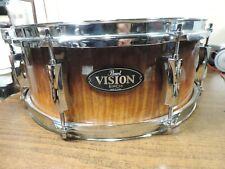"pearl vision birch snare drum 14"" w/ Skb Soft Case"