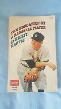 The Education of a Baseball Player-1967-Mickey Mantle-Paperback