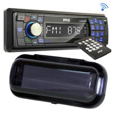 PLMR17BTB InDash Marine Stereo USB/SD AM/FM Player with PLMRCB1 Radio Dust Cover