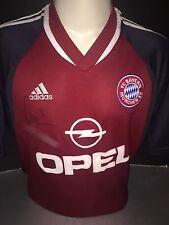 Signed Retro Alexander Zickler Bayern Munich Home Shirt