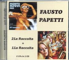 Fausto Papetti – 21a Raccolta + 11a Raccolta FIRST TIME ON CD.