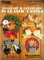 Decorate to Celebrate in Plastic Canvas Leisure Arts 1156 Wreaths All Occasions
