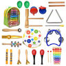 Kids Early Educational Learning Wooden Musical Toddlers Instruments Toy Boy Girl