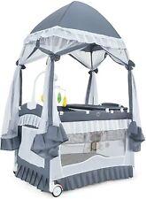 Babybett Stubenwagen Babywiege Babyschaukel Reisebett 2 Ebene mit Wickelauflage