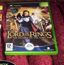 Señor De Los Anillos Retorno Del Rey Xbox Original