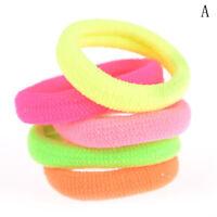 50X Girls Children Elastic Hair Ties Bands Rope Ponytail Holders Headband V